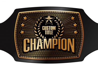 Champion Belt Template H-011