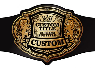 Champion Belt Template K-0011