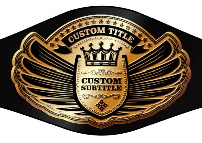 Champion Belt Template K-0021