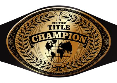 Champion Belt Template O-0011