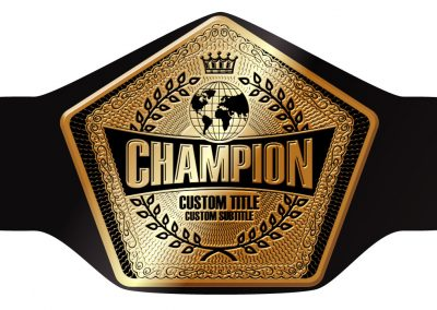 Champion Belt Template P-0011