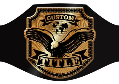 Champion Belt Template U-0021